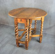 Late 17th Century Oak Gateleg Table