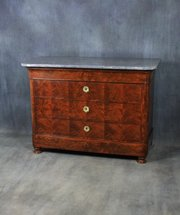 Louis Phillipe Mahogany Commode / Chest of Drawers