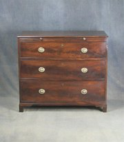 Regency Mahogany Bachelors Chest of Drawers