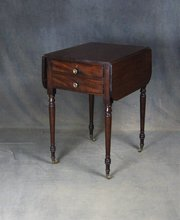 Regency Mahogany Pembroke Work / Writing Table