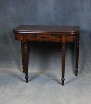 Regency Mahogany Tea Table attributed to Gillows