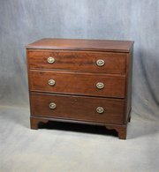 Small Regency Mahogany Chest of Drawers