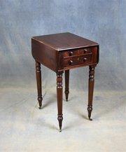 Small Victorian Pembroke / Occasional Table