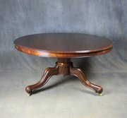 Victorian Mahogany Breakfast / Dining Table