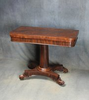 Victorian Mahogany Card Table