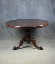 Victorian Mahogany Dining / Breakfast Table