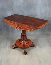 William IV Mahogany Tea Table