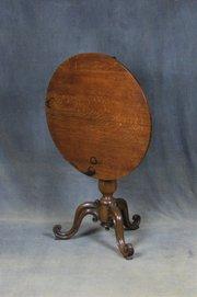 William IV Oak Tilt Top Table