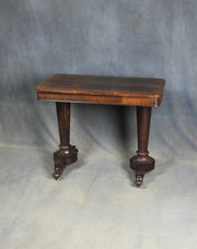 William IV Rosewood Side / Occasional Table