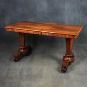 William IV Rosewood Writing / Library Table