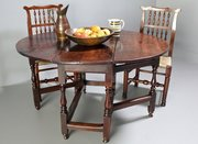17th Century Oak Gateleg Table.