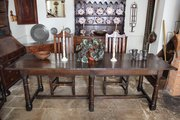 17th Century Oak Refectory Table U519