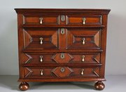 17th Century Panelled Chest of Drawers. U382