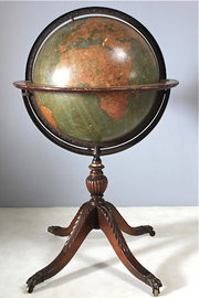 18 Inch Terrestrial Globe on Stand by Kittinger