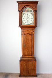 18th Century Oak 8 day Longcase Clock