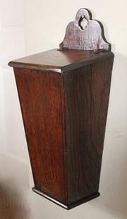 18th Century Oak Knife Box