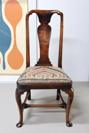 18th Century Walnut Side Chair V355