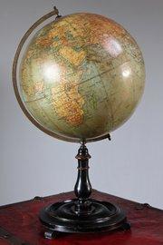 1920's Philips 12 inch Terrestrial Globe. U586