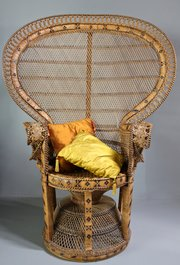 1970's Peacock Chair. U360