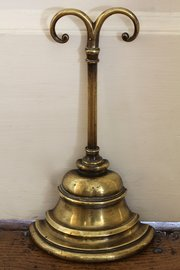 19th Century Brass Door Stop.
