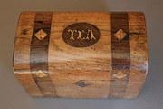 19th Century Oak Tea Caddy