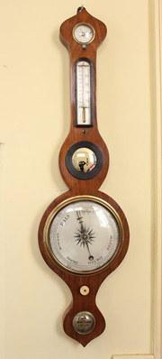 19th Century Rosewood Barometer