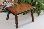 19th Century Small Cottage Child's Stool V165
