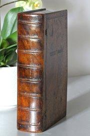 19th Century Treen Book Box V140