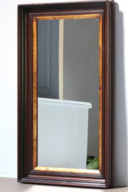 19th Century Walnut Wall Mirror