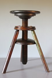 19th century Adjustable Artist's Stool. U699