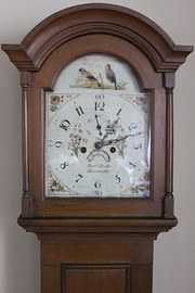 8 Day Painted Dial Longcase Clock