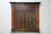 Antique Freemasonry Panelled List of Past Grands