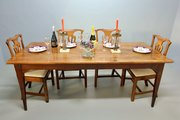 Antique French Cherrywood Dining Table V169