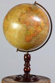 Antique Geographia 12 Inch Terrestrial Globe.