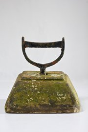 Antique Iron and Stone Boot Scraper. T687