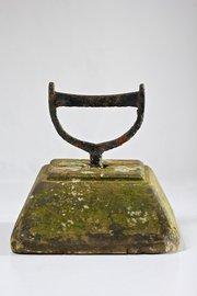 Antique Iron and Stone Boot Scraper. T687