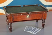 Antique Miniature Snooker Table. T962