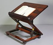 Antique Rosewood Music/Reading Stand. U308