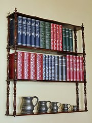 Antique Wall Hanging Shelves. U55