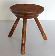 Antique Welsh Milking Stool. U516