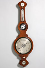 Early 19th Century Wheel Barometer