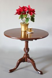 Georgian Mahogany Tripod Table. S1000