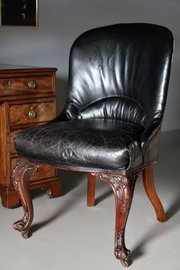 Gillow & Co 19th Century Desk Chair V286
