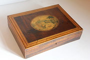 Regency Box with Painted Scene