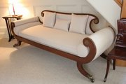 Regency Painted Frame Sofa. U323