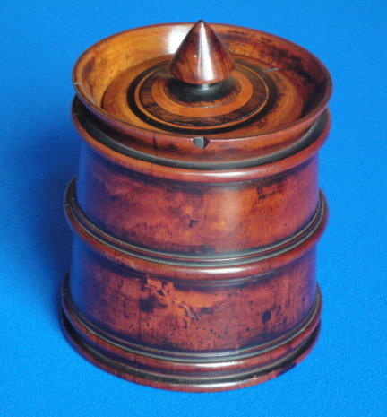 Treen Tobacco Pot.