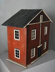 Unusual Vintage Collapsible Dolls House U981