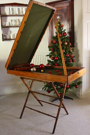 Victorian Folding Bagatelle Table Game. U68