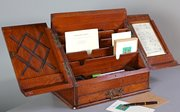 Victorian Oak Stationary Box. U184
