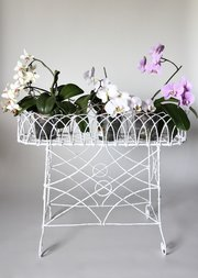 Victorian Painted Wire-work Planter V164